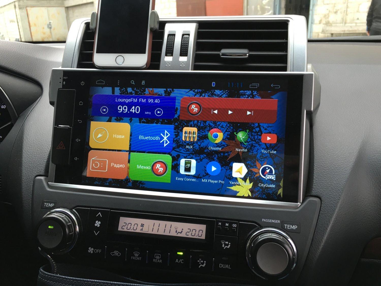 Автомагнитола Toyota Prado 150 на Android 6.0 (Marshmallow) RedPower 31265 IPS 2008 г
