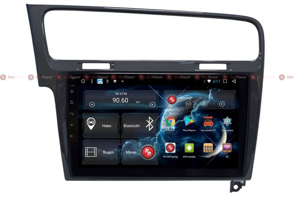 Штатная магнитола для Volkswagen Golf 7 (2013+) на Android 8 RedPower 51006 R IPS DSP